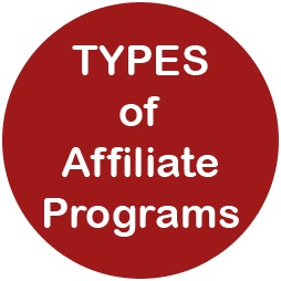 Types of affiliate programs