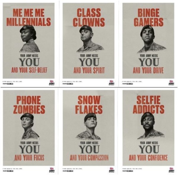 British Army's recruitment campaign